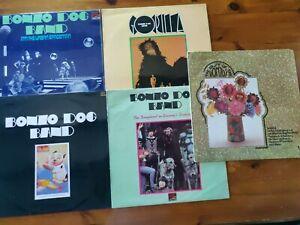 Bundle of 5  Bonzo Dog Band LP's