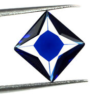 Ceylon Blue Sapphire Loose Gemstone 2.65 Ct Natural Princess Cut AGSL Certified