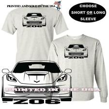 Chevrolet Chevy C7 Corvette Z06 Front View Digirods / Koolart Car T Shirt