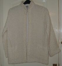 A  LOVELY C & A  WOMENS CREAM  JACKET  UK SIZE 18
