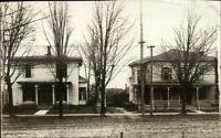 NY - Ripley Residences (Written on Back) c1910 Real Photo Postcard