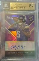 2014 Select Purple Prizm #RA-TB /15 Teddy Bridgewater Rookie BGS GEM MINT 9.5 💎