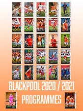 More details for 20/21 blackpool home programmes - full set