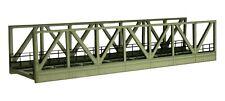 LOEWE Spur H0e/H0m 3009 Kastenbrücke 1-gleisig Lasercut-Bausatz, 165mm, OVP, top