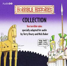 Horrible Histories Ten Terrible Tales CD Collection Box Set 10 CD's