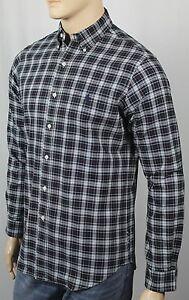 Ralph Lauren Green Blue Cream Plaid Classic Oxford Dress Shirt NWT