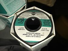 """Kester 24-7070-0007 silver Solder .015"""" 1/4 pound roll free shipping  n.American"""