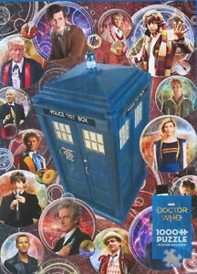 Cobble Hill Doctor Who The Doctors 1000 pc Jigsaw Puzzle Tom Baker David Tennant