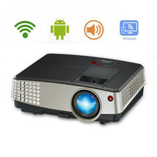 HD Mini Smart Android Wifi LED Video Projector Home Theater Movie World Cup HDMI