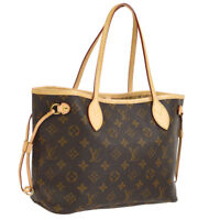 LOUIS VUITTON NEVERFULL PM HAND TOTE BAG MONOGRAM M40155 AUTHENTIC A43801g