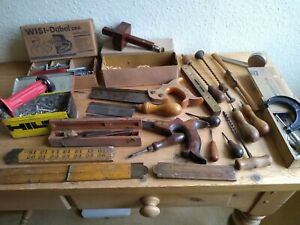vintage carpentry / woodworking tools job lot