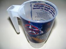 Nolan Ryan Hall of Fame Plastic Stats Mug 1999 Cooperstown cup glass tumbler NOS