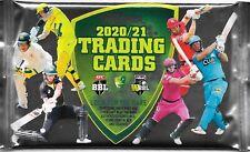 6 x 2020 2021 CA CRICKET AUSTRALIA BBL TRADERS TRADING CARD PACKS