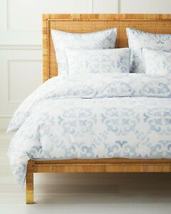 Serena and Lily Wentworth (Coastal Blue) Duvet Cover K/CalK -NWT- New With Tags