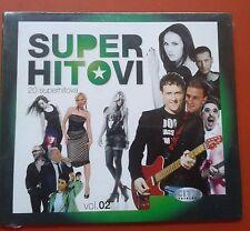 CD Super Hitovi Vol 02 Serbia Folk  Hari Mata Hari Romana Beklavac Crvena Jabuka