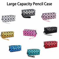 Large Cute Zipper Pencil Case Pen Box Bags Fashion Makeup Storage Pouch Supplies
