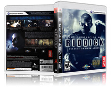 The Chronicles of Riddick: Assualt on Athena - Custom PS3 Cover & Case. NO GAME!