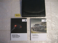 BMW X5 Owners Manual HANDBOOKS and Wallet                                  (717)