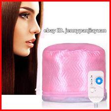 Electric Heating Steam Hair Cap Steamer Hot Hair Beauty Care Treatment