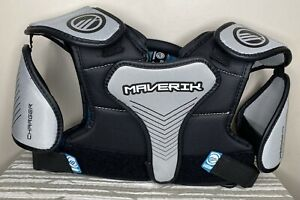 Maverick Lacrosse Youth Medium Charger Shoulder Pads