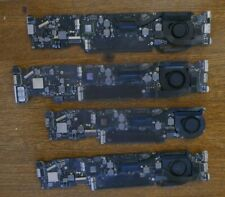 4 X Logicboard  / Motherboard for macbook air a1466  A1370 for parts or repair .
