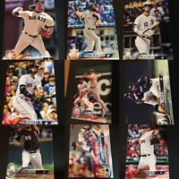 2018 Topps Baseball Series One 1 Card Singles 251-350 MLB (You Pick Your Card)