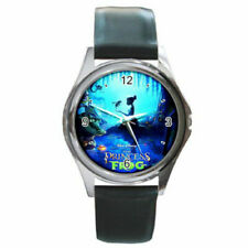 princess and the frog watch (round metal wristwatch)