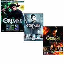 Grimm the complete Season series 1, 2, 3, 4 & 5 DVD box set R4 New Sealed