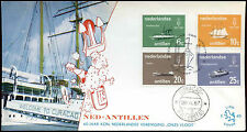 Netherlands Antilles 1967 Royal Navy FDC First Day Cover #C26599