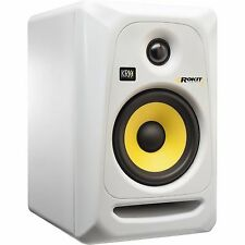 "KRK RP5G3W ROKIT 5 G3 5"" 50W Powered Studio Monitor (White)"