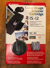 Genuine Canon IS -12 Color Scanner Cartridge Bubble Jet BJC50, BJC80,BJC85