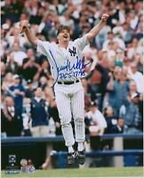 David Wells New York Yankees Signed 8 x 10 Perfect Game Celebration Photo & Insc