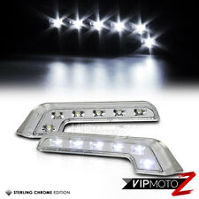 {BRIGHT} BENZ AMG Style 12V LED Daytime Running Light DRL Bumper/Grille/Fog Lamp