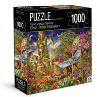 Owl Tree Garden Vivid Street Views Jigsaw Puzzle 1000 Piece 68.6 x 50.8cm New