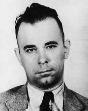 New 8x10 Photo: Mug Shot of Depression-Era Outlaw Gangster John Dillinger, 1930s