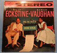 SARAH VAUGHAN BILLY ECKSTINE BEST OF IRVING BERLIN 1958 NICE CONDITION! VG/VG+!!