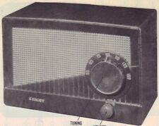 1951 Knight 5H-570 Radio Service Manual Schematic photofact Diagram Repair Fix