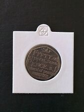 2005 Samuel Johnson Dictionary 50p Coin - **Good Clean Circulated Condition**