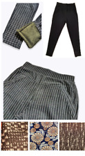 New Womens Ladies Stretch Pile Lined Thick Fleece Pants Leggings Pockets Pull on