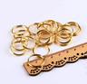 4-12MM Stainless Steel Gold Double Loop Split Open Jump RingsDIY Jewelry