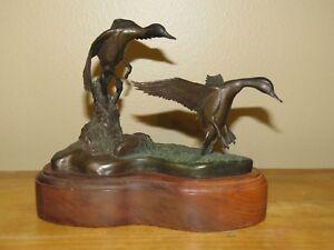 Duck bronze, Pintails by Greg Rusinyak