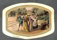 """"""" DESSUS BOITE DRAGEES BOISLIVEAU LA ROCHE/YON """" SCENE AVEC ENFANT 1925"""