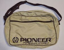VINTAGE BSI Sportex Pioneer Personal Stereo Carry Gear Bag Shoulder Strap RARE
