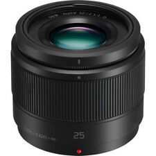 Panasonic Lumix G 25mm f/1.7 Asph. Lens New!