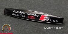 AUDI S LINE TEAM GOH EMBLEM SCHRIFTZUG A3 (goh#4bk) A4 S4 S3 Quattro RS TT sport