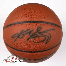 KOBE BRYANT  AUTHENTIC Signed Full Size NBA Basketball PSA/DNA COA & BAS LOA