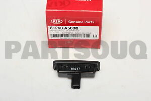 81260A5000 Genuine Hyundai / KIA HANDLE ASSY-TAIL GATE O/S