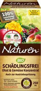 CELAFLOR Naturen Bio 250 ml Schädlingsfrei Obst.-u. Gemüse Konzentrat Käfer