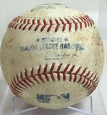 TIM HUDSON CAREER STRIKEOUT #2065 GAME-USED MLB BASEBALL + BLACKMON LEMAHIEU ABs