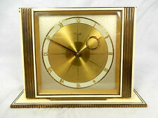 Heinrich Möller Art Déco  Design Kienzle table clock  Tisch Uhr working 10244